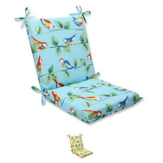 Pillow Perfect Outdoor Curious Bird Squared Corners Chair Cushion