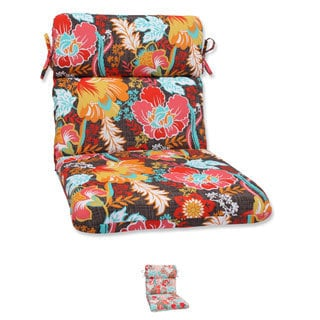 Pillow Perfect Outdoor Suzanne Rounded Corners Chair Cushion