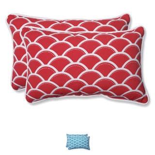 Pillow Perfect Outdoor Sunny Rectangular Throw Pillow (Set of 2)