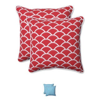 Pillow Perfect Outdoor Sunny 18.5-inch Throw Pillow (Set of 2)