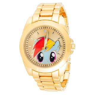 Xtreme Girl's MLP014G-LB My Little Pony Equestria Twilight Goldtone Watch with Collectible Tin Set