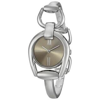 Gucci Women's YA139501 'Horsebit' Swiss Quartz Stainless Steel Bangle Watch