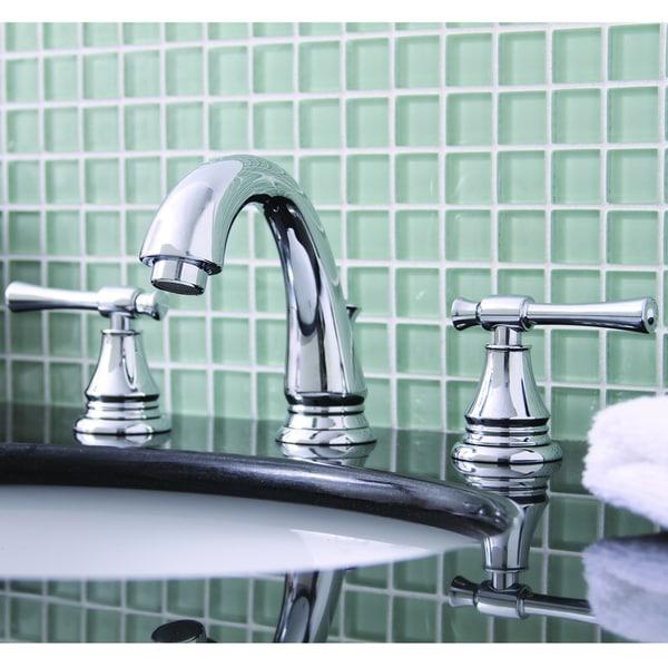 Premier Torino Lead-free Double-handle Chrome Bathroom/ Lavatory Faucet