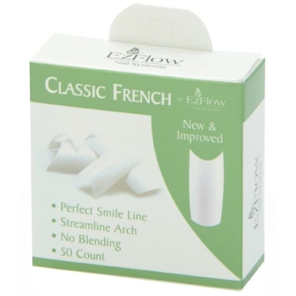 EZ Flow Classic French Tips #2 (Pack of 50)
