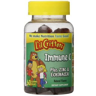 L'il Critters Immune C Plus Zinc and Echinacea (60 Count)