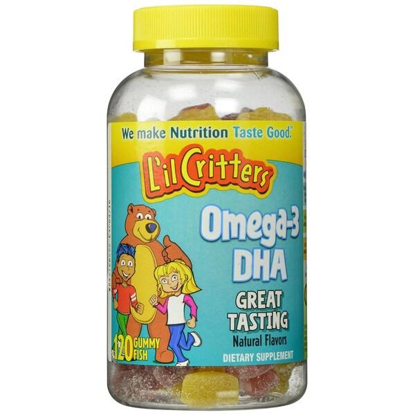 L'il Critters Omega-3 Gummy Fish (120 Count)