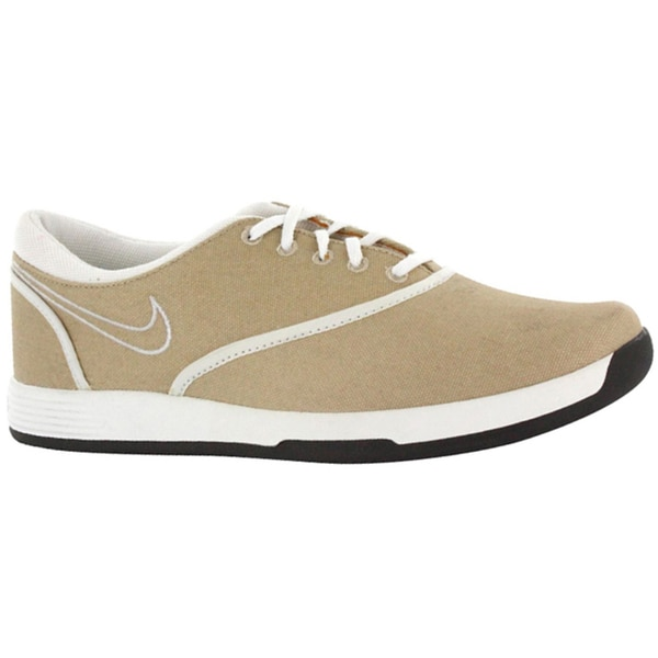 Nike Womens Lunar Duet Sport Linen/ White/ Smolder Golf Shoes