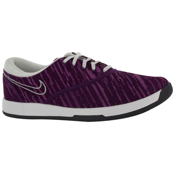 Nike Womens Lunar Duet Sport Grape/ Silver/ Pink Golf Shoes