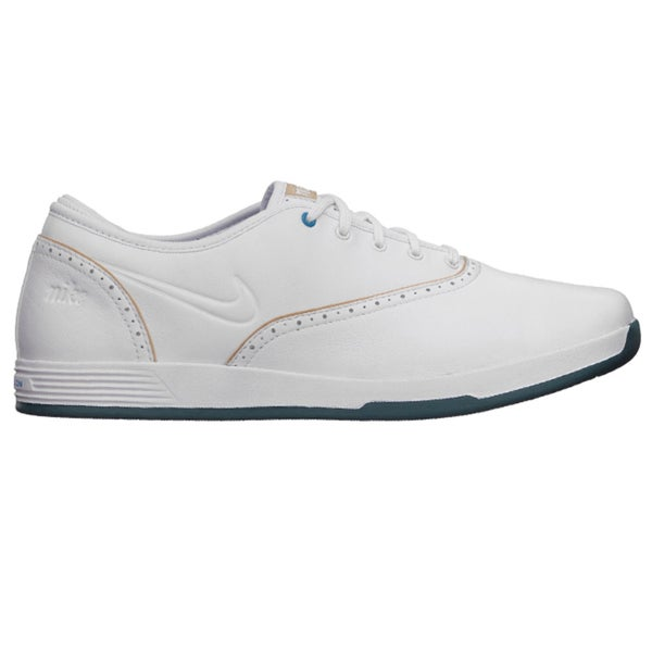 Nike Womens Lunar Duet Classic White/ Tan Golf Shoes