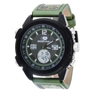 Mossy Oak Men's Digital All-terrain Field Officially Infinity Olive Watch