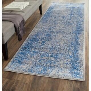 Safavieh Adirondack Grey/ Blue Rug (2'6 x 8')