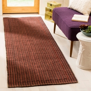 Safavieh Natural Fiber Brown/ Rust Sisal Rug (2'6 x 8')