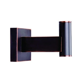 Vigo Allure Square Design Antique Rubbed Bronze Single Hook