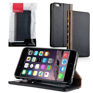 INSTEN Black Bible Flip Leather Stand Wallet Case Cover With Photo Display For Apple iPhone 6 Plus/ 6+