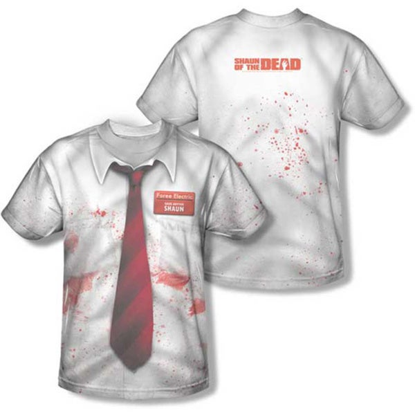 Shaun of the Dead Foree Electric Costume T-shirt