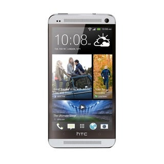 HTC One M7 Silver 32GB Unlocked AT&T GSM 4G LTE Android Smartphone (Refurbished)
