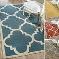 nuLOOM Flat Woven Indoor/ Outdoor Trellis Rug (7'6 x 9'6)
