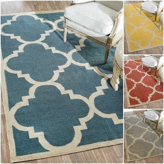 nuLOOM Flat Woven Indoor/ Outdoor Trellis Rug (8'6 x 11'6)