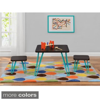 Altra Furniture Children's Retro Style Table and Stool Set