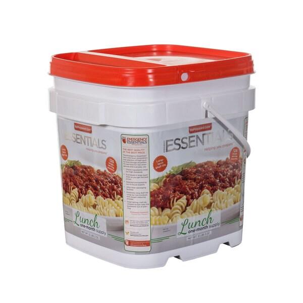Emergency Essentials Lunch Bucket One Month Supply