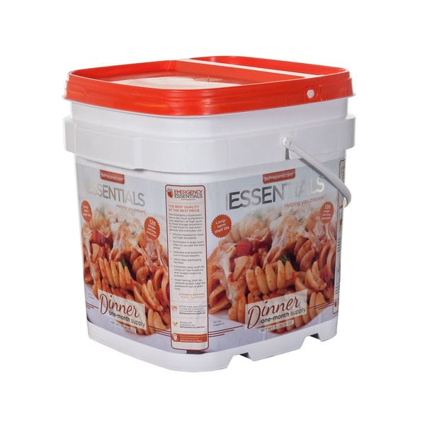 Emergency Essentials Dinner Bucket One Month Supply