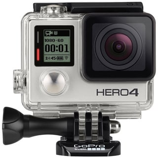 GoPro Hero4 Silver Edition 12MP 4K Touch Display Action Camera with Wi-Fi