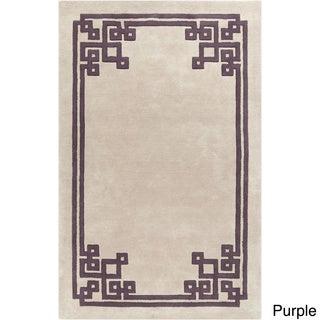 Surya Hand-Tufted Kadence Indoor Wool Rug (5' x 8')