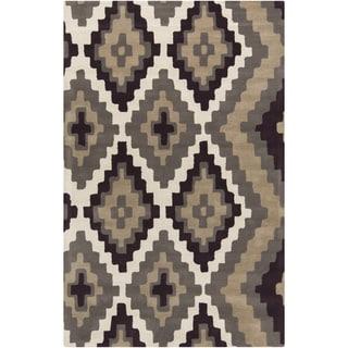 Hand-tufted Beth Lacefield Justine Indoor Wool Rug (8' x 11')