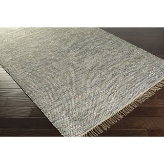 Papilio :Hand-Woven Mabel Stripe Cotton Rug (8' x 10')
