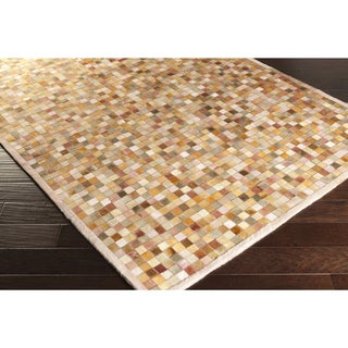 Papilio :Handmade Kelty Animal Cotton Rug (5' x 8')