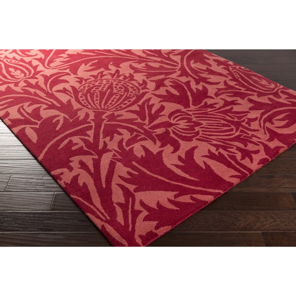 William Morris : Hand-Tufted Edwards Contemporary Wool Rug (5' x 8')
