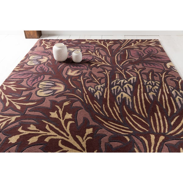 William Morris: Hand-Tufted Chaucer Contemporary Wool Rug (3'3 x 5'3)