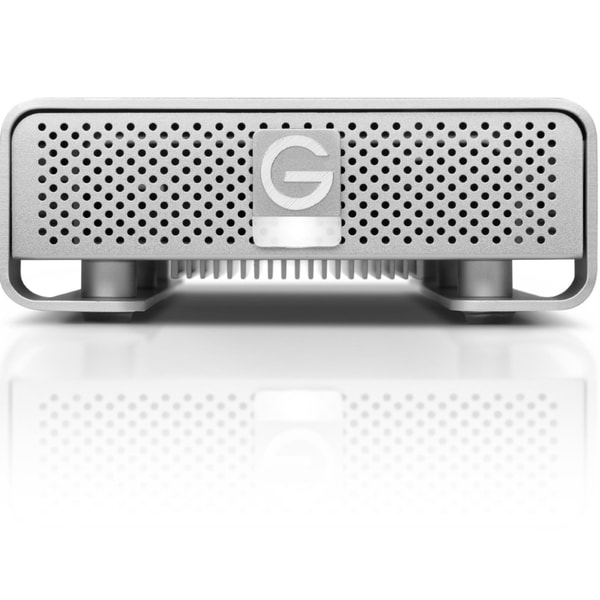 G-Technology G-DRIVE 2 TB 7200 RPM Professional-Strength External Hard Drive, Silver (0G02529) Refurbished