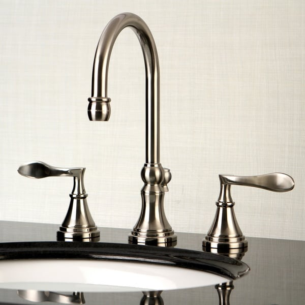 Modern Widespread Satin Nickel Bathroom Faucet 16946119 Shopping Great Deals