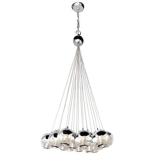 Maxim Lighting Reflex-single 12-light Chrome Pendant