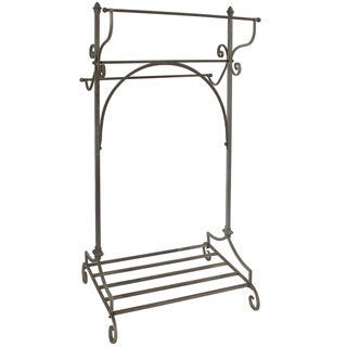 Fairfield Scroll Freestanding Towel Rack