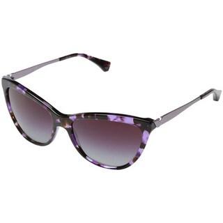 Emporio Armani Women's EA4030 Violet Cat-eye Sunglasses