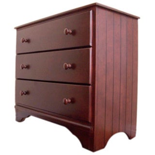 Eden Baby Furniture Nantucket 3-drawer Chest, Dark Cherry