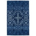 Hand-Tufted Ombre Navy Rug (5' x 7'9)