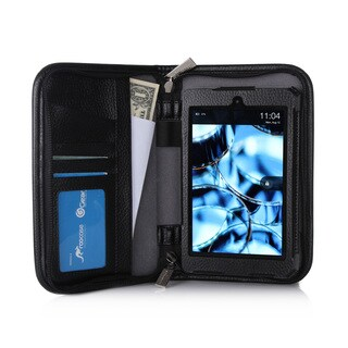 rooCASE Executive Genuine Leather Case Cover for Amazon Kindle Fire HD 6