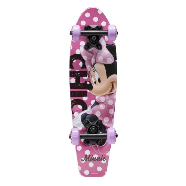 Disney Minnie Mouse Kids 21-inch Complete Skateboard