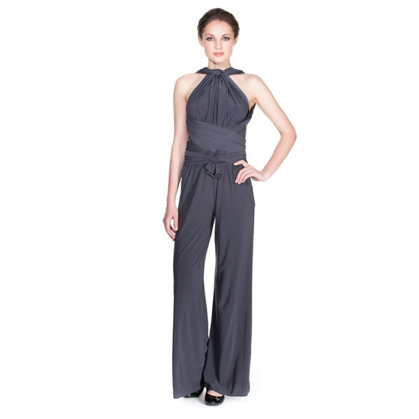 Von Ronen Women's Convertible Multi Way Transformer Jumpsuit