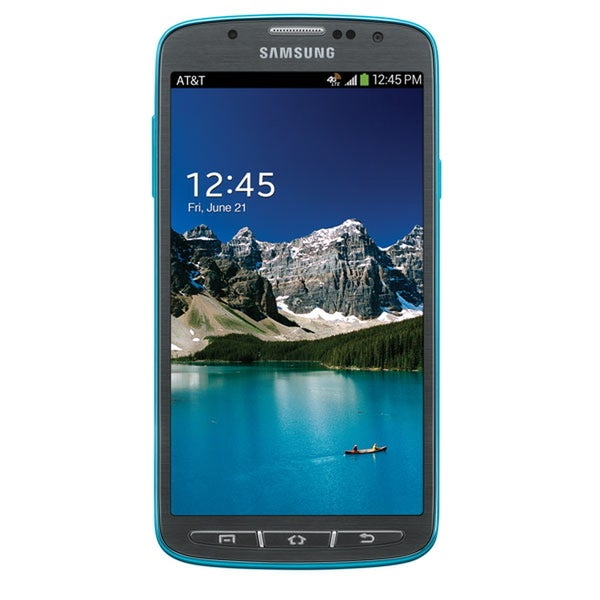 Samsung Galaxy S4 Active SGH-i537 AT&T Blue 4G LTE Unlocked GSM Android Smartphone (Refurbished)