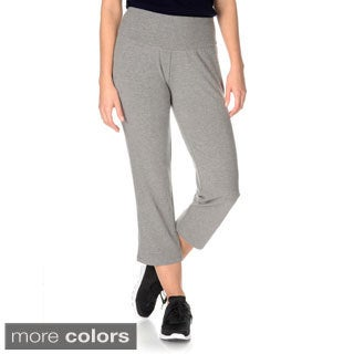 Teez-Her Women's Skinny Capri Pant w/Invisible Tummy Smoothing Panel