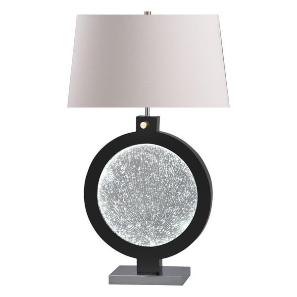 Electra Black Table Lamp