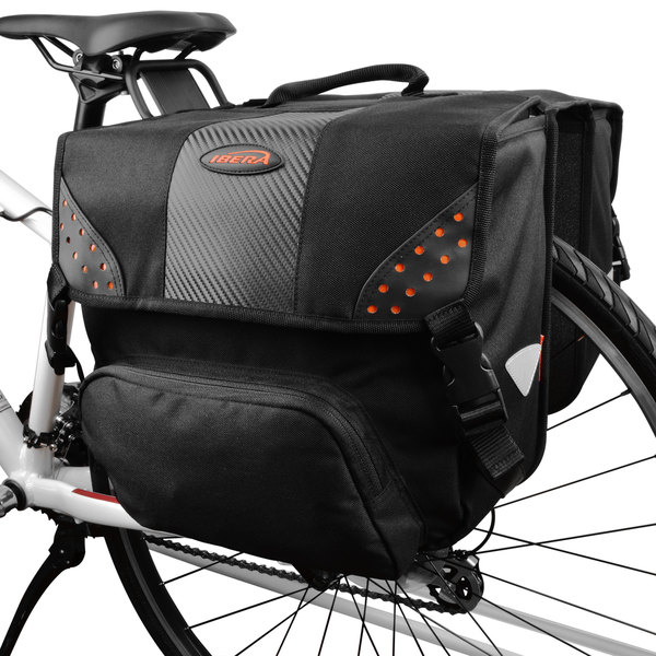 Ibera Bike Side-mounting Pannier Set