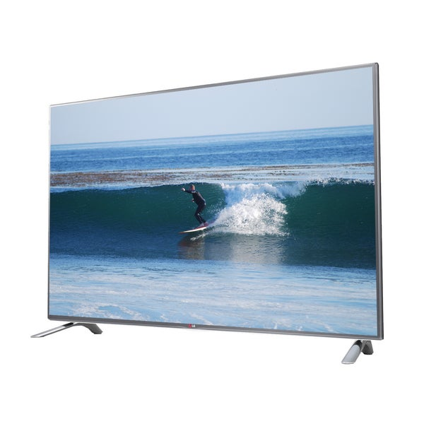 LG 55LB6500 55-inch 3D 1080p 120Hz Smart WebOS LED HDTV with 2 Pair of 3D Glasses