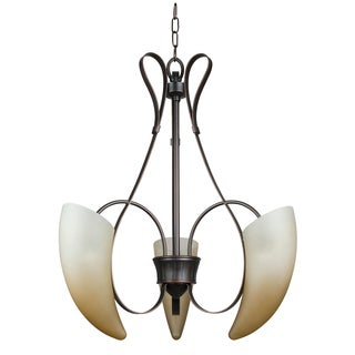 Michael 3-light Light Burnished Bronze Chandelier