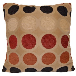 Dotty 18-inch Decorative Throw Pillow by American Pillow