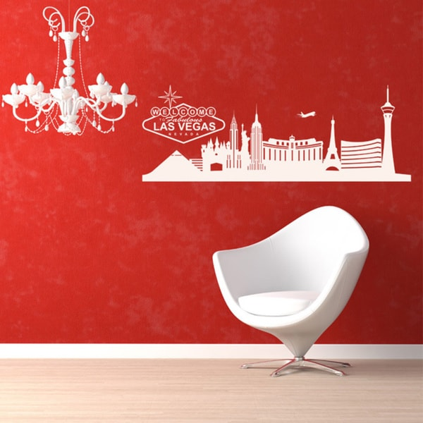 Las Vegas Skyline Wall Decal